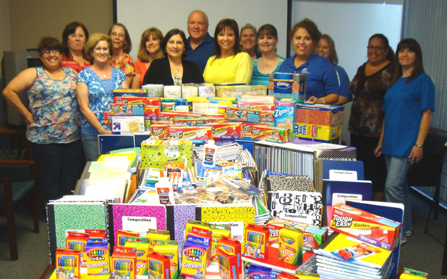 Benefit Management Administrators Collects Supplies for Local Elementary School