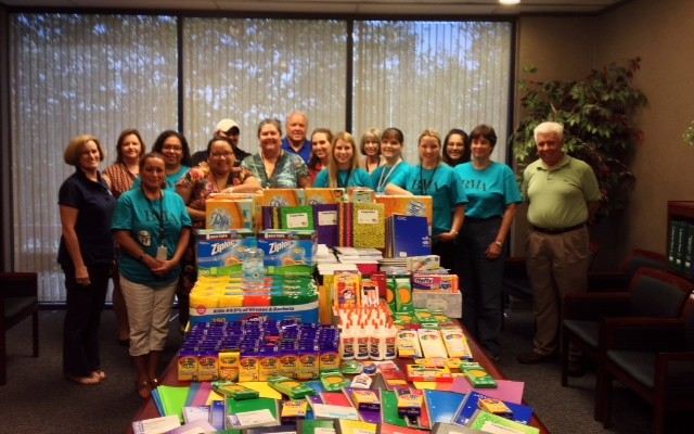BMA Collects Supplies for Area School