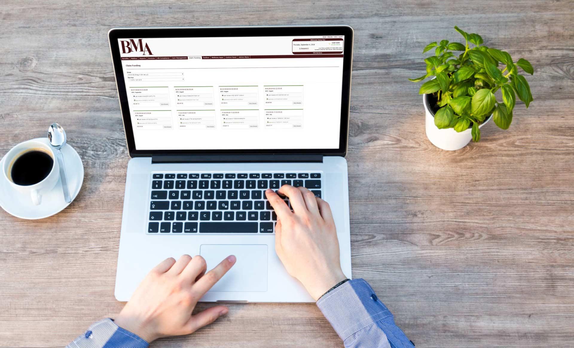 claim funding web portal